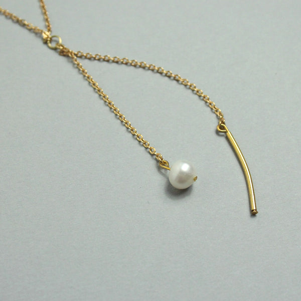 Freshwater Pearl Split Necklace