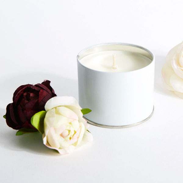 Peppermint and Peony Travel Candle