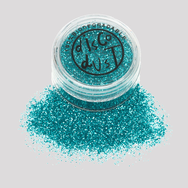 Biodegradable Glitter - Turquoise 3g pot