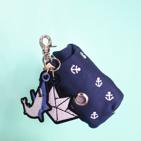 Ahoy! Ahoy! Wastebag Holder with Leash
