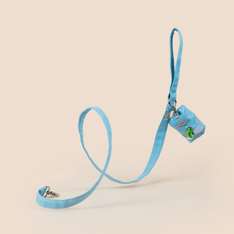 Into the Sky Leash & Wastebag Holder