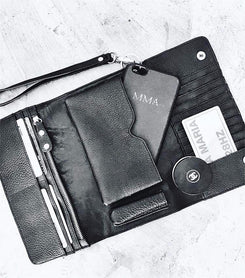 Wanderlust Travel Wallet - The Happiness Journey