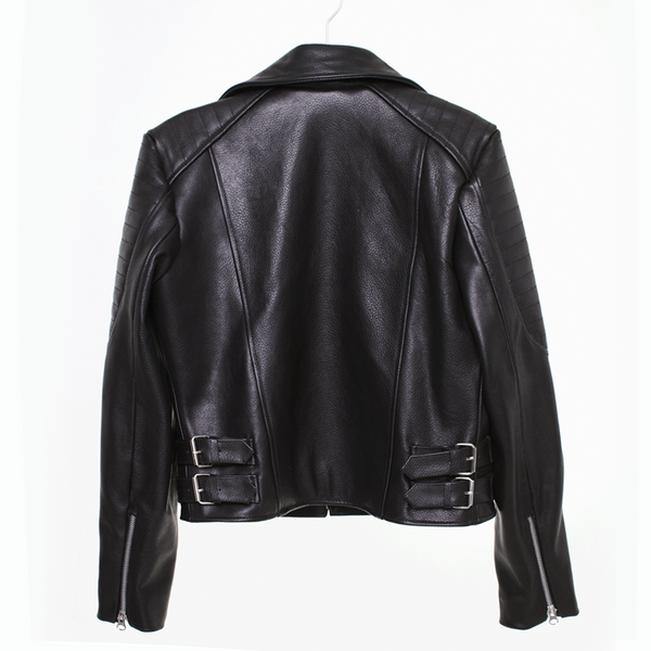 Rider Jacket | Black Leather - The Happiness Journey