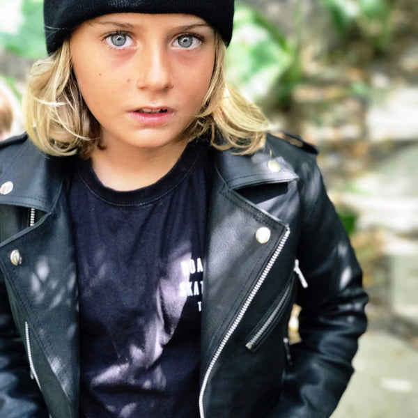 THJ Kids Boys Biker Jacket