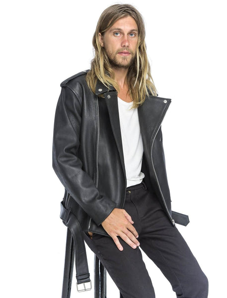 Joe Biker Jacket | Black - The Happiness Journey
