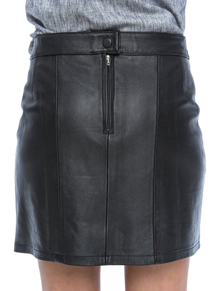 Bella Mini Skirt | BLACK - The Happiness Journey