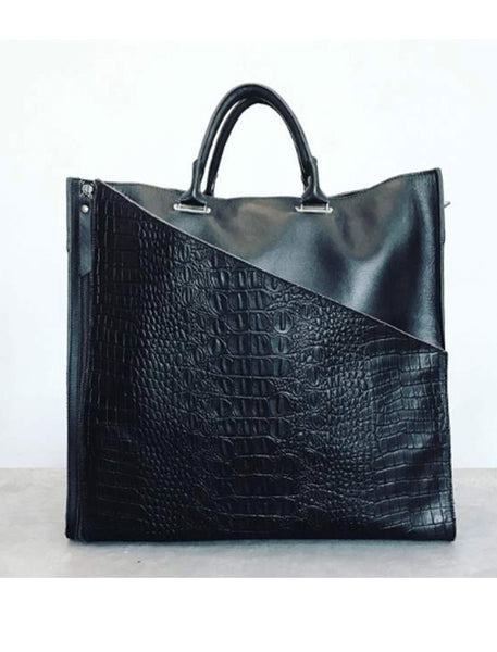Chantelle Tote | Black - The Happiness Journey