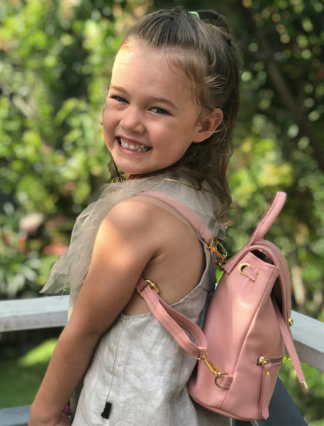 Mila Children's Customised Mini Backpack - The Happiness Journey