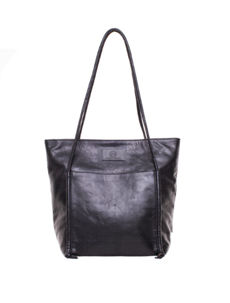 May Tote | Black - The Happiness Journey