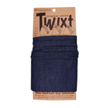 Twixt Wired Head Wrap - Denim Plain Dark Blue by ANTICRAFT