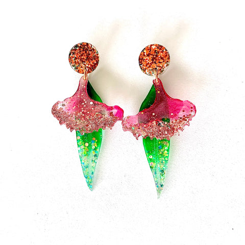 Flowering Gum Blossom Earrings