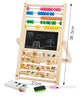 Image of Wooden Drawing Toys double-sided