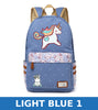 Image of unicorn Dab cartoon Backpack