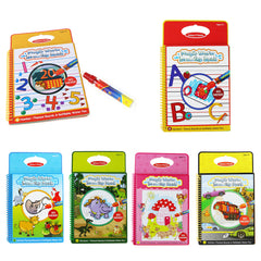 6 Colors Magic Water Drawing Book
