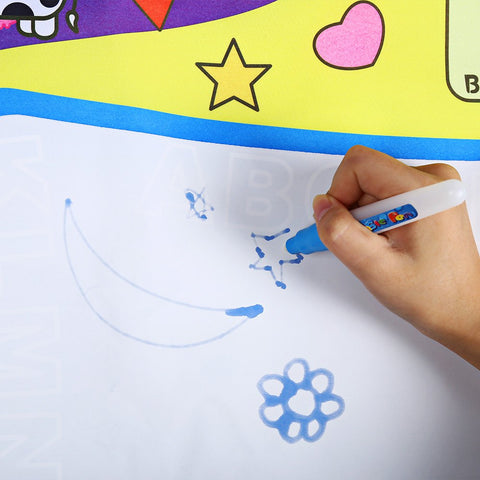 Water Drawing Play Mat