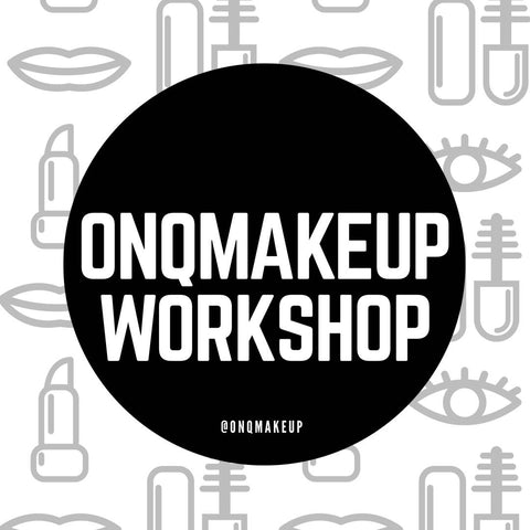 ONQMAKEUP Workshop 16th September 2017
