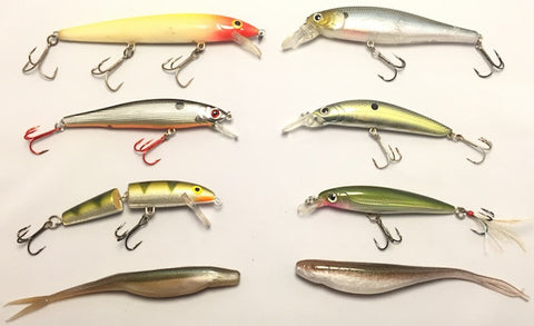 best type of Jerkbait collection at panvago angler blogs