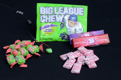 Green Apple Bubble Gum bait to catch catfish