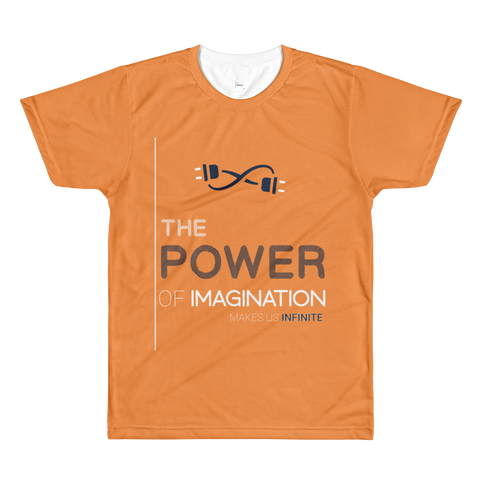Power of imagination Men Allover Design