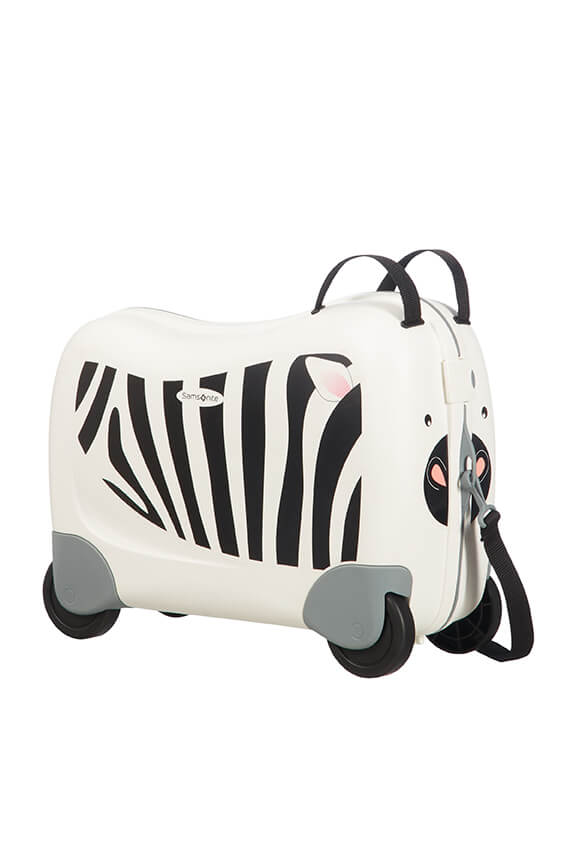 Samsonite Dream Rider 50cm 4-Wheel Kids Cabin Case - Zebra