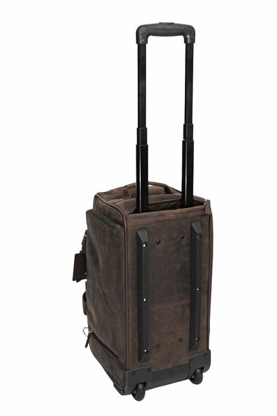 Babila Leather 2-Wheel Cabin Bag
