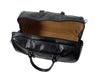 Luciano Fabrini Large Leather Barrel Bag