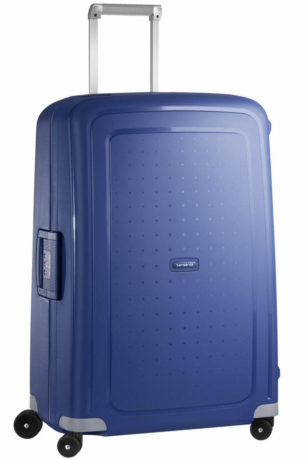 Samsonite S'Cure 75cm Large 4-Wheel Zipperless Spinner Suitcase