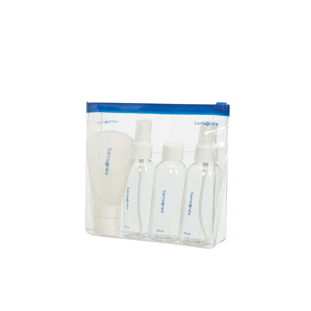 Samsonite Travel Bottle Set with Pouch