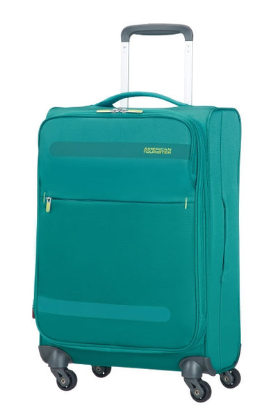 American Tourister Herolite 55x35x20cm Expandable 4-Wheel Cabin Case