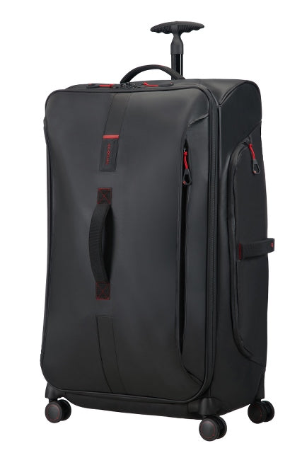 Samsonite Paradiver Light 79cm 4-Wheel Spinner Duffle Bag - Black
