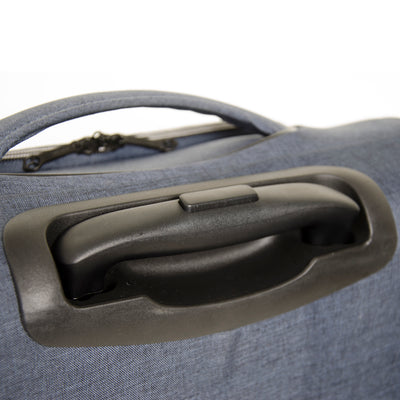 Qubed Area 56cm 2-Wheel Extra Wide Upright Cabin Case