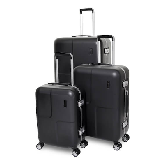 Eminent Air-Lock Set of 3 Suitcases