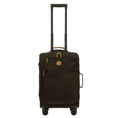 Bric's Life 55x36x23cm Soft-Sided 4-Wheel Cabin Case
