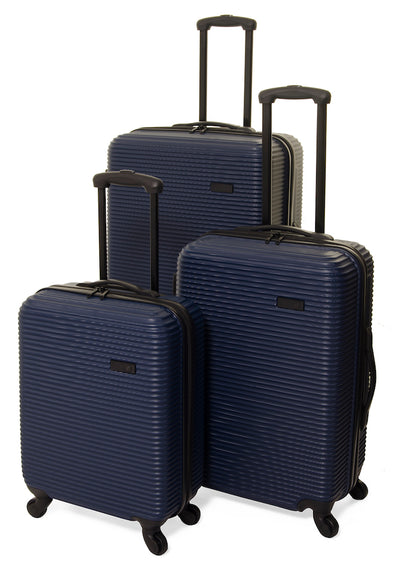 Qubed Collinear 77cm Large 4-Wheel Spinner Suitcase