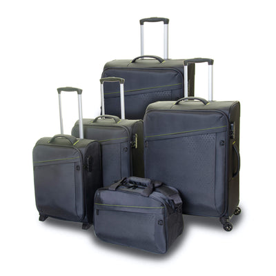 QUBEd Calculus 65cm 4-Wheel Medium Expandable Suitcase
