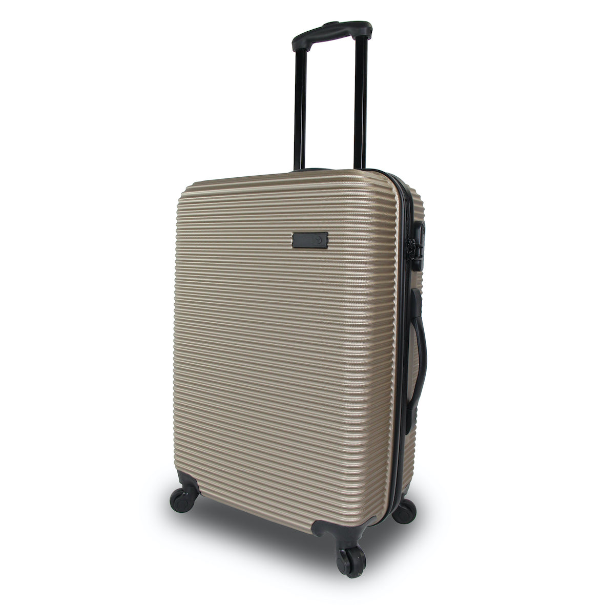 Qubed Collinear 87cm Extra Large 4-Wheel Spinner Suitcase