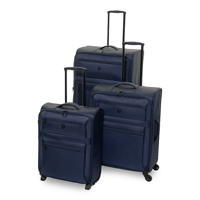 QUBEd Decimal Set of 3 Suitcases