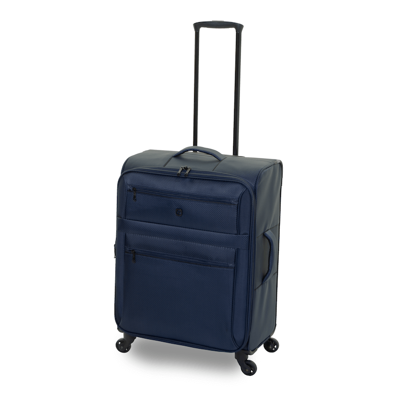 QUBEd Decimal 65cm Expandable Medium Suitcase