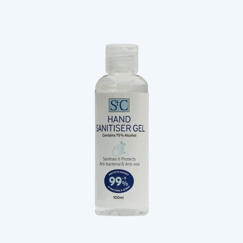 St.C Alcohol-Based Hand Sanitiser - 100 ml