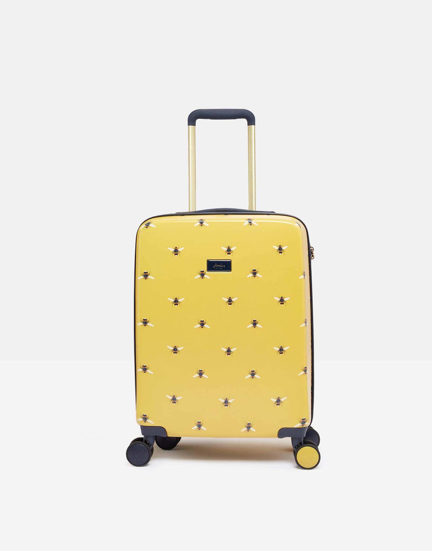 Joules Botanical Bee 4-Wheel Cabin Case