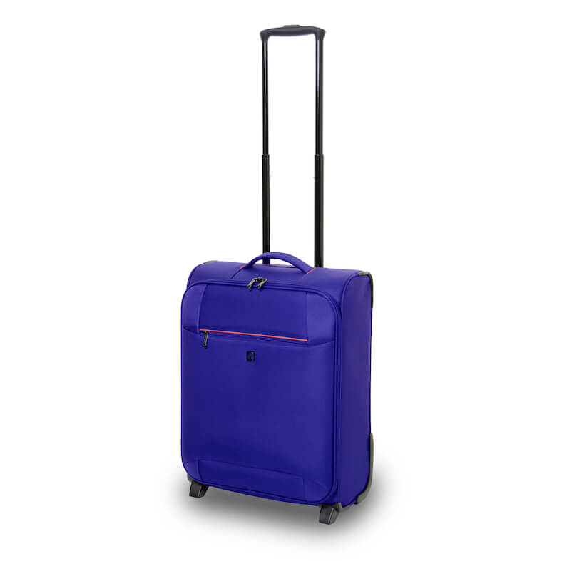 QUBEd Pi 55cm 2-Wheel Upright Cabin Suitcase