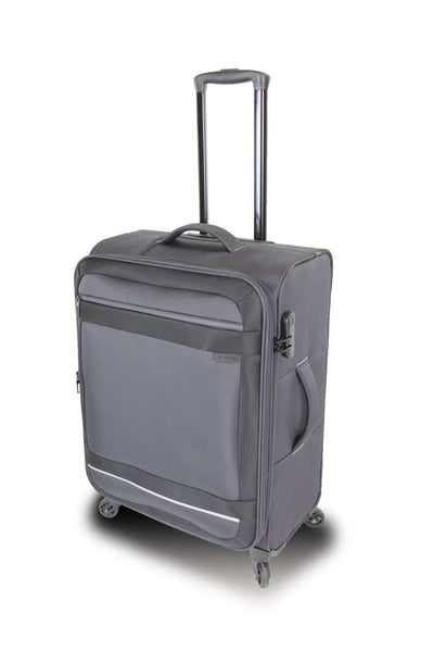 QUBEd Torus 65cm 4-Wheel Medium Expandable Suitcase