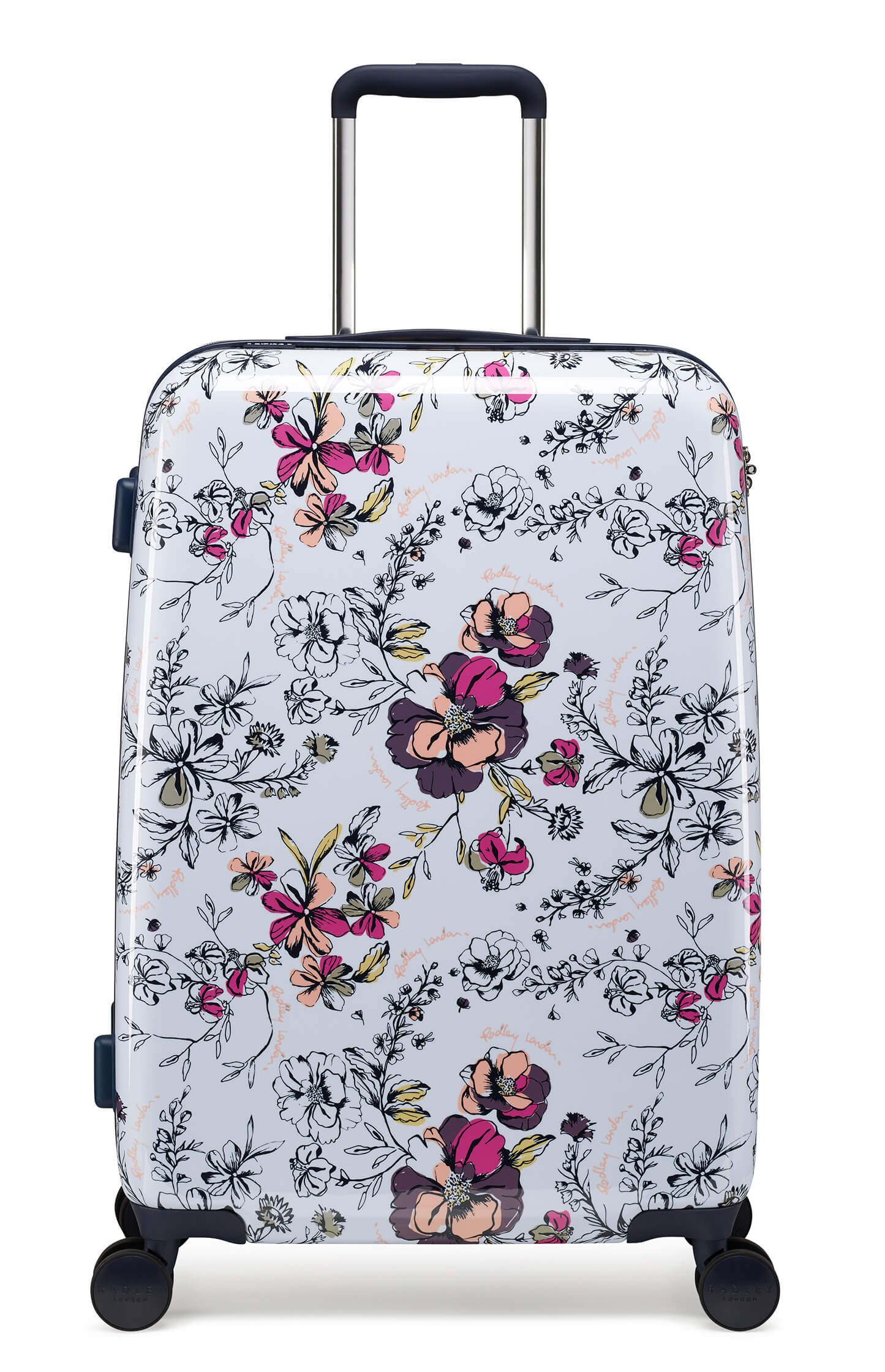 Radley Sketchbook Floral 68cm Medium 4-Wheel Suitcase