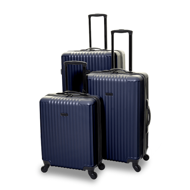 QUBEd Sequence Set of 3 Suitcases