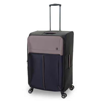 QUBEd Sigma Set of 3 Suitcases