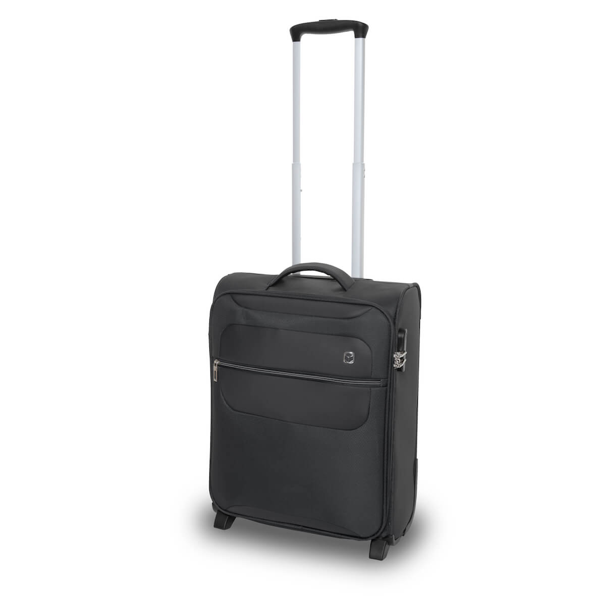 QUBEd Mode 55cm 2-Wheel Upright Suitcase