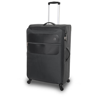 QUBEd Mode 75cm Large Expandable 4-Wheel Spinner Suitcase