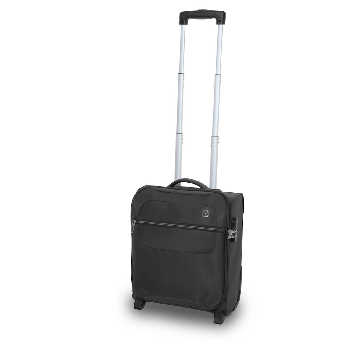 QUBEd Mode 2-Wheel Upright Under Seat Cabin Case