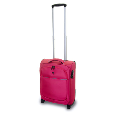 QUBEd Segment 55cm 2-Wheel Cabin Upright Suitcase