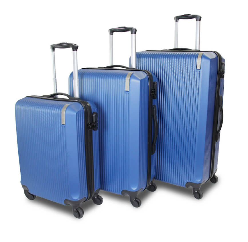 QUBEd Theorem Set Of 3 Suitcases